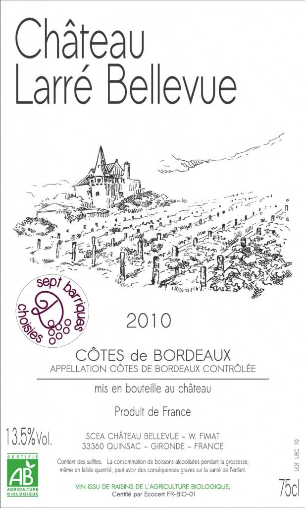 CRU 2010 'Sept barriques choisies avec Dyonisos'