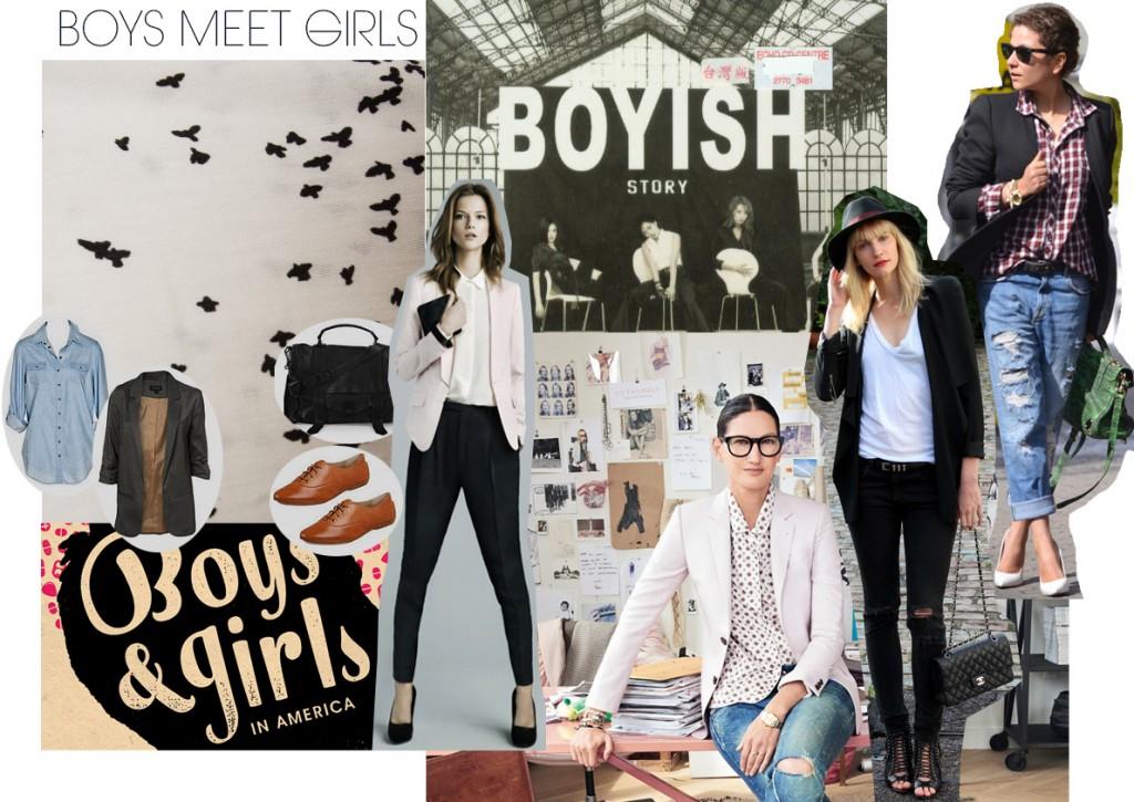 BOYS MEET GIRLS